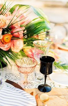 Elegant Tropical Wed