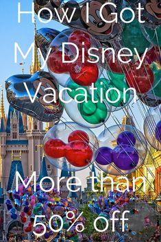 How I Got My Disney Vacation