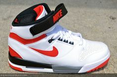 9f4fa39d1b1c Nike Air Revolution White University Red New Detailed Pictures