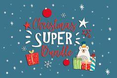 Christmas Bundle Lightroom Preset Bokeh Overlays Clipart