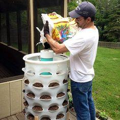 Garden Tower Project » The Homestead Survival vertical planter