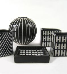 Stig Lindberg, Gustavsberg, Domino - Domino Antik