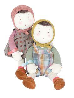 poupon margotte, poupée chiffon, Les Coquettes, Moulin Roty, jouets, kids