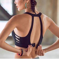 Mermaid Curve Side Cross Women Mesh Sports Bra Push Up Adjustable Bras Gym Fitness Tank Sexy Yoga Bra Sport Fashion, Fitness Fashion, Fashion Fashion, Top Fitness, Health Fitness, Estilo Fitness, Yoga Bra, Women's Sports Bras, Cute Sports Bra
