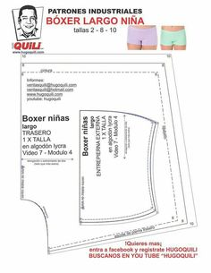Boxers, Sewing Patterns, Underwear, Bralettes, Beachwear, Textiles, Plates, Quilts, Sewing Clothes Women