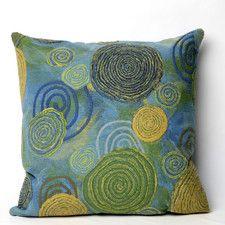 Graffiti Swirl Indoor/Outdoor Throw Pillow