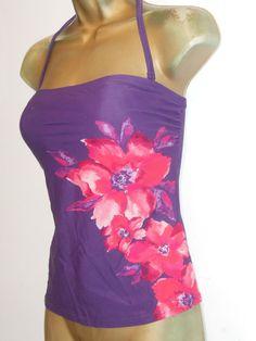 aa0ebc9aa0f03 LADIES PURPLE RED TU HALTERNECK STRAPLESS TANKINI BIKINI TOP SIZE 14  SWIMWEAR #fashion #clothing #shoes #accessories #womensclothing #swimwear  (ebay link)