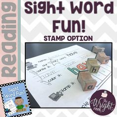 Sight Word Fun (SIGHT WORD PRACTICE SHEETS - STAMP OPTION)
