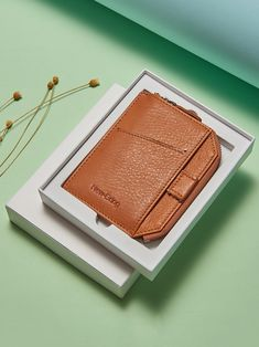 Leather Men, Leather Wallet, Rfid Wallet, Fashion Men, Minimalist Fashion, Money Clip, Card Holder, Zipper, Money Clips