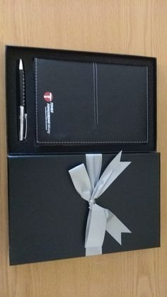 Diary & pen gift set by Oasis By Design.  See more on  our website with personalized diaries and gift sets - www.oasisbydesign.co.za