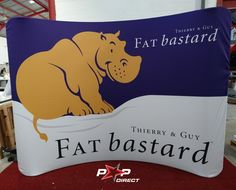 #fatbastard #thierryandguy #robertsons Wall Banner, Exhibition Display, Banner Printing, Banners, Pop, Prints, Expo Stand, Popular, Pop Music