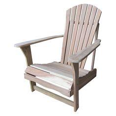 International Concepts Adirondack Patio Chair, Brown