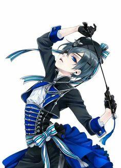 Ciel Phantomhive | Black Butler | Kuroshitsuji | ♤ Anime ♤<<<da pose tho xD...ok ok he looks hot