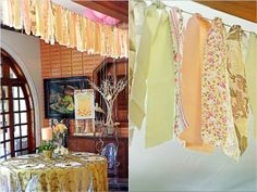 Vera's Peach and Green themed party - Details Peach And Green, Color Combinations, Party Themes, Bridal Shower, Shabby Chic, Simple, Birthday, Home Decor, Color Combos