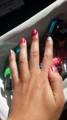 Fun 21st birthday nails! ! 21st Birthday Nails, Birthday Ideas, Fun, Hilarious