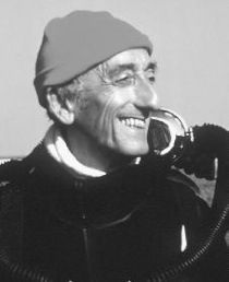 Jauques Custeau, one of my childhood heros. He started my love for the ocean and how I started scuba diving at age 11