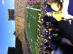 IN THE BIG HOUSE!!! Michigan Football
