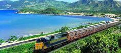 Train from the North to the South Vietnam Tourism, Hanoi Vietnam, Vietnam Travel, Asia Travel, International Air Ticket, Trains, Vietnam Holidays, Provinces Of China, Train Tickets