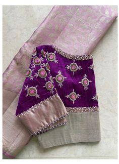 Cutwork Blouse Designs, Wedding Saree Blouse Designs, Simple Blouse Designs, Stylish Blouse Design, Traditional Blouse Designs, Blouse Patterns, Hand Work Blouse Design, Collor, Latest Maggam Work Blouses