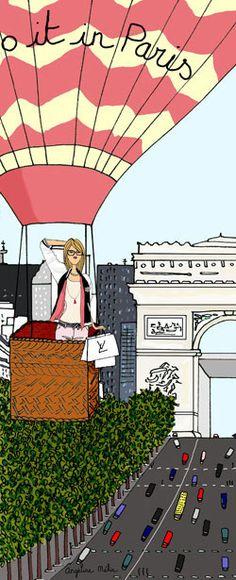 The hidden enclaves of Parisiennes near the Champs-Elysées