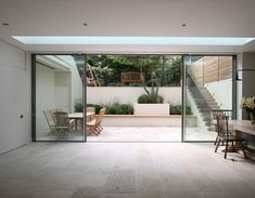 The Modern Sliding Patio Doors Minimal Windows As Modern Patio Doors In London Iq Glass House Interiors Awesome design interior simple and elegant with covers ideas DIY and lowes patio design interior and exterior Patio Interior, Interior Design, Interior Doors, Modern Patio Doors, Kitchen Patio Doors, Glass Kitchen, Folding Patio Doors, Bifold Doors Onto Patio, Glass Room