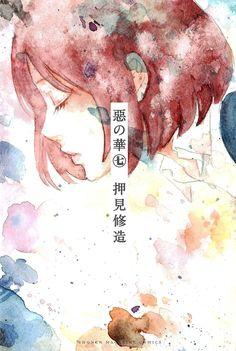 Nakamura, Sawa - Aku no Hana Manga Girl, Anime Manga, Anime Art, Like A G6, Collages, The Flowers Of Evil, Hirunaka No Ryuusei, Manga Covers, I Love Anime