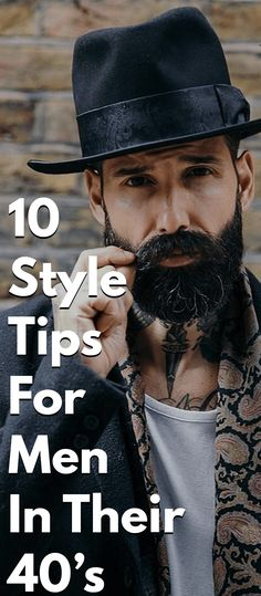10 Style Tips For Men In Their 40's