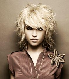 long+shag+hairstyles | Halblange frisuren | Frisuren Kurz