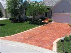 Painted Driveways The Villages Florida Concrete Designs Florida Driveway