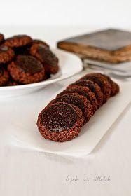 Ízek és ötletek: Zabpelyhes csokis keksz Biscotti, Oatmeal, Healthy Recipes, Meals, Cookies, Paleo, Vaj, Desserts, Fitt