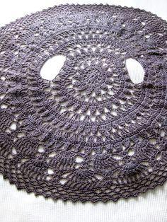 Crochet cardi, round cardigan, circular jacket or bolero!