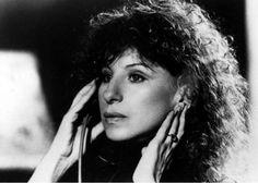 """Barbra Streisand recording the soundtrack for """"Yentl"""""""