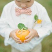 cute little ring bearer