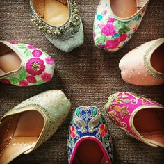 The gorgeous collection of indian designed juttis..from the house of vian..