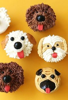 Dog Cupcakes for Food Network