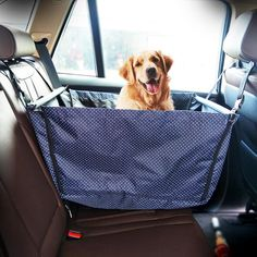 Foldable Pup Car Hammock