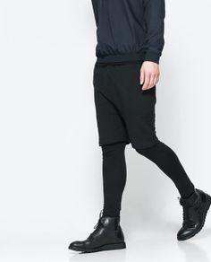 Image 1 of ANKLE LENGTH LEGGINGS from Zara