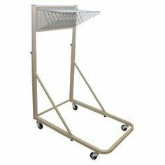 "Adir Corporation 613 Vertical File Rolling Stand Blueprints by Adir Corporation. $265.58. Color: Sand Beige. Widely swinging pivot brackets for easy access. Size: 66""H x 27""W x 46.5""D. Accommodates various sizes hanging clamps. Swivel casters with brakes for portability control. Finish:Sand Beige Make your workplace the best it can be. With our selection of mobile file products, you can easily move, store, and organize your files and tubes. Take them from studio ..."
