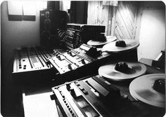 Still recording to analog tape machines! That classic sound is timeless.