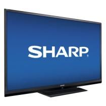 "Sharp - Refurbished 69-1/2"" Diag. - LED - 1080p - 120Hz - HDTV with Apple® iPod® Dock"