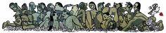 Santiago Sequeiros. ilustración para la revista Papel 2015