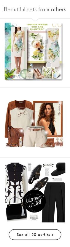 """Beautiful sets from others"" by riuk ❤ liked on Polyvore featuring Martha Stewart, Trilogy, Alexander McQueen, Forever 21, Miller Harris, Stila, Isabel Marant, Sandro, Chanel and Campomaggi"