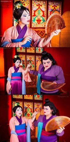 Amazing Mulan Cosplay
