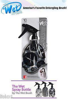 """Wet Brush """" Wet Spray """"Clean, Green, Collapsible Water Spray Bottle (scissor)"""