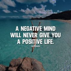 Via @adillaresh A negative mind will never give you a positive life. Like this? Let us know, follow and share it with your friends! ➡️ @npmusik for love quotes! #adillaresh