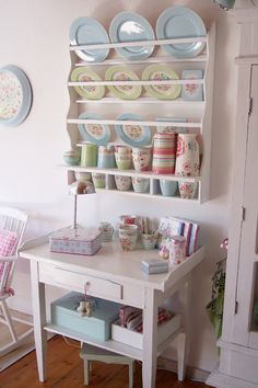 Lulufant   Summer dining room with GreenGate