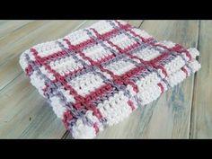 ▶ (Crochet) How To - Crochet Tartan Plaid Wash Cloths - YouTube