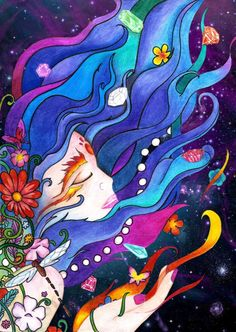 Lucy in the Sky with Diamonds by AlfredoV90.deviantart.com inspired by the beatles song