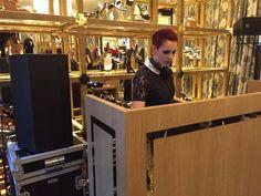 EVDK DJ set for Tory Burch #toryburch #entertainment #djset #party #crescenziandco #event