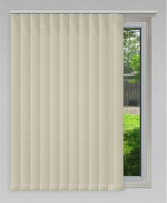 89mm Blade Vertical Blind - Tivoli - Feather #blinds #vertical